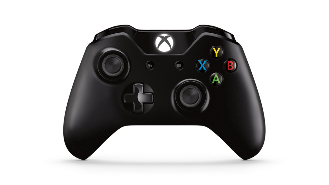 Xbox One Wireless Controller With Play & Charge Kit front view