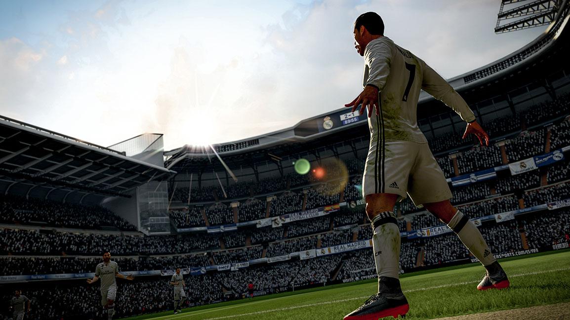 Cristiano Ronaldo zozadu