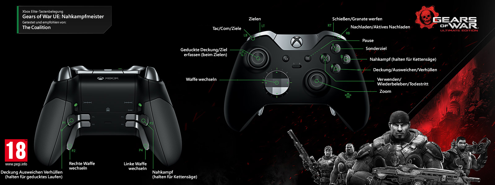 Gears of Wars Ultimate Edition – Nahkampfprofi – Multiplayer-Elitezuordnung