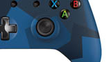Special Edition Midnight Forces Wireless Controller close-up lower thumb