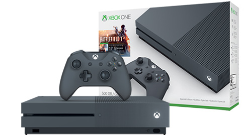 Xbox One S Battlefield 1 Special Edition Bundle (500GB)