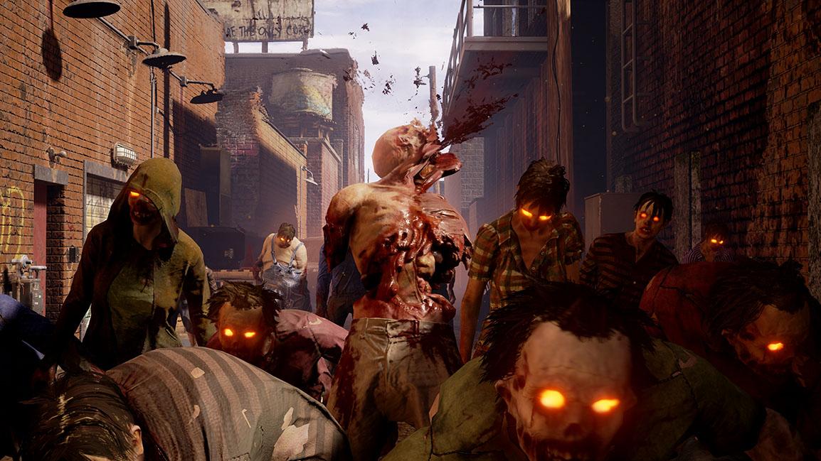 Śmiertelne zagrożenie atakiem zombie