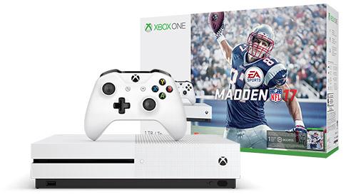 Xbox One S Madden 17 Bundle (1TB)