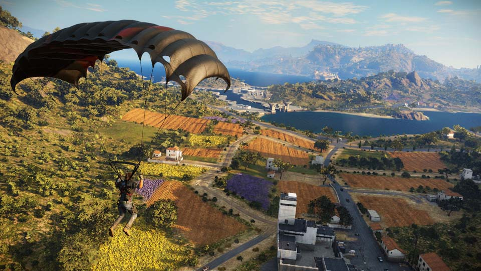 Just Cause 3 parachute