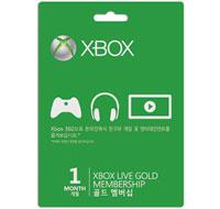 Xbox LIVE Gold Membership 1 Month