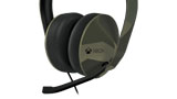 Armed Forces Stereo Headset zoom left angle thumbnail