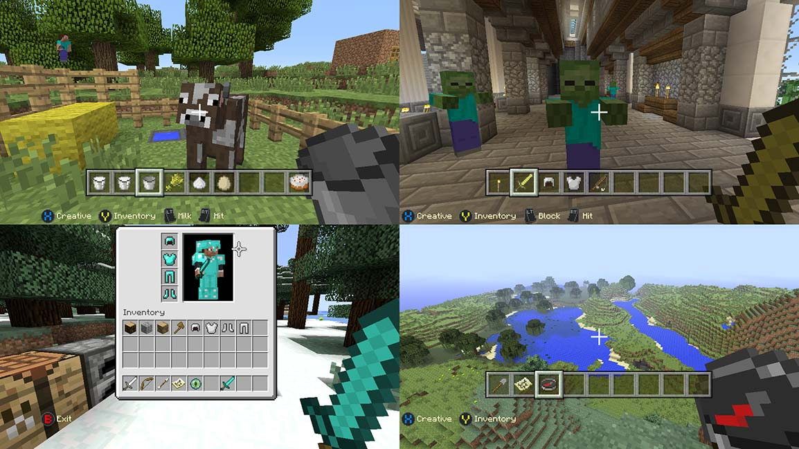 Minecraft Gameplay Screenshot