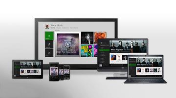 Xbox Music on Xbox 360