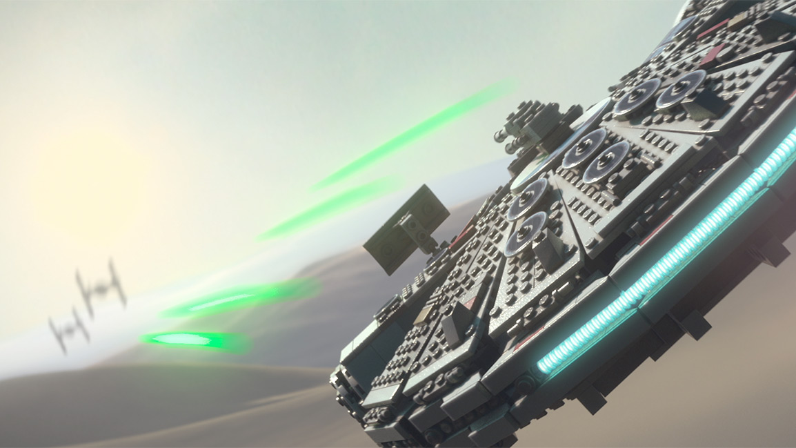LEGO Blaster battles