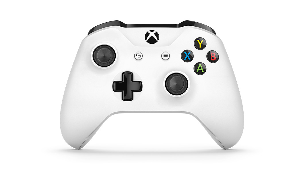Xbox One S controller front facing