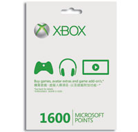 Xbox LIVE 1600 Points