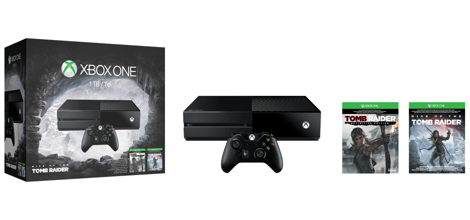 Pack Xbox One 1 TB: Rise of the Tomb Raider
