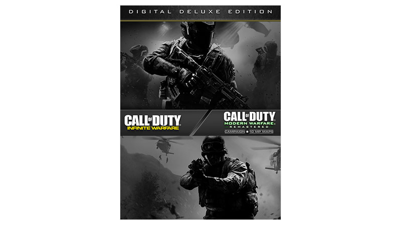 Call of Duty Infinite Warfare Deluxe Edition Box Shot