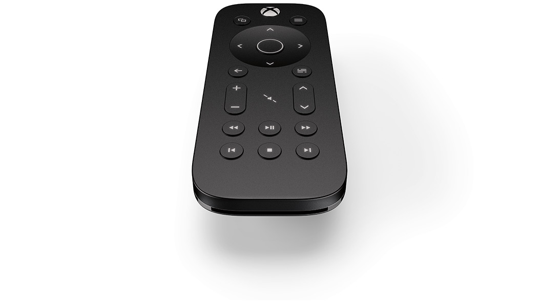 xbox one media remote angle view