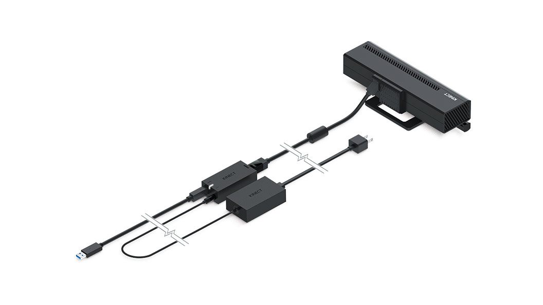 Kinect Adapter plugged in