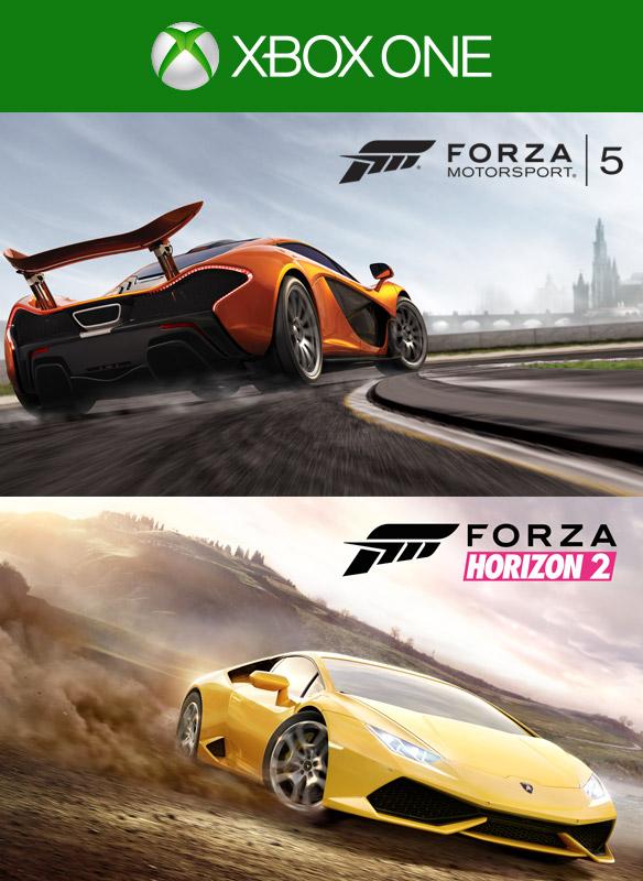 Forza Horizon 2/Forza Motorsport 5 Bundle boxshot