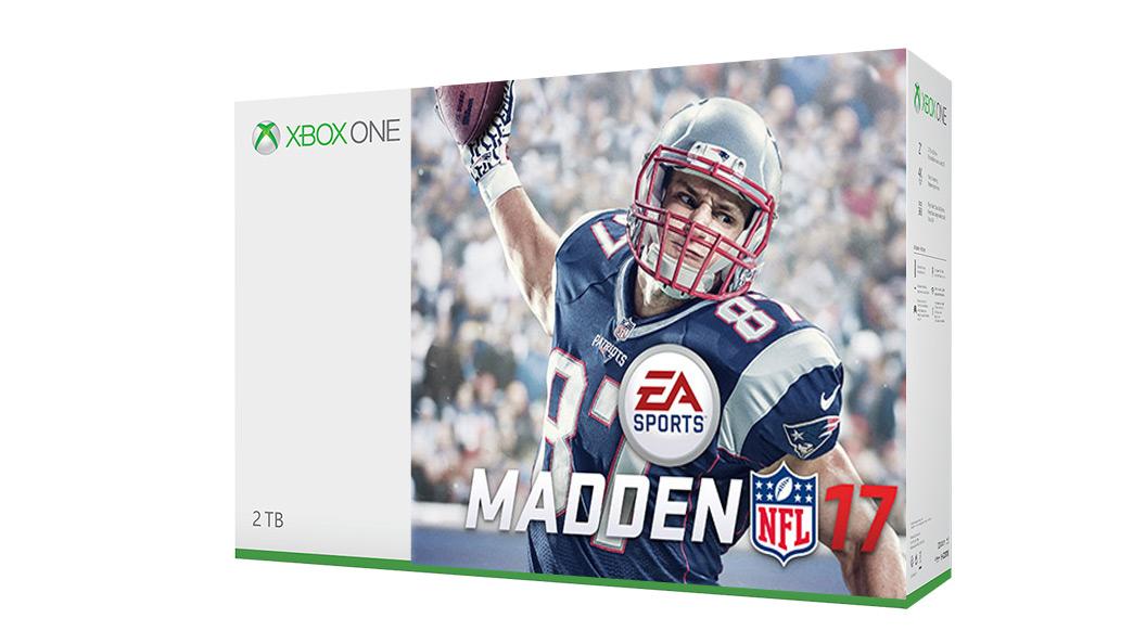 Xbox one s madden nfl 17 bundle 1tb xbox