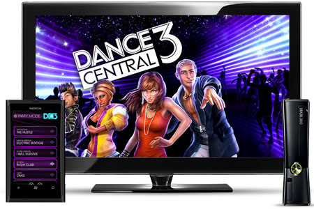 Dance Central 3 with SmartGlass