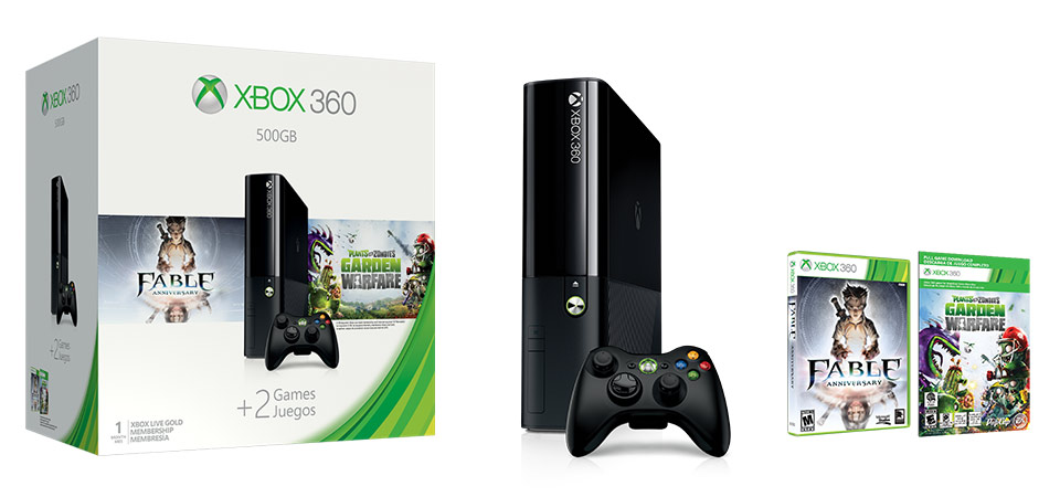 Xbox 360 500GB Spring Value Bundle