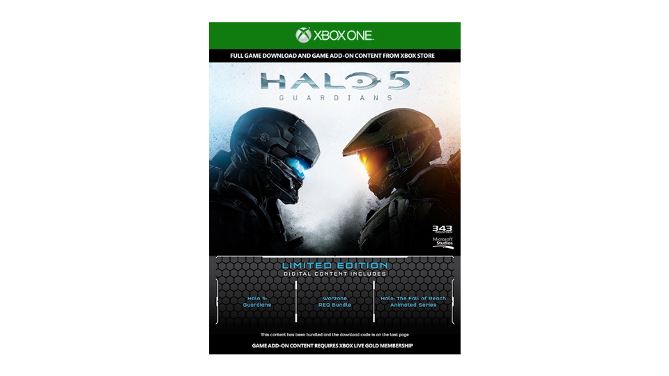 Xbox One Halo 5 Guardians Console Bundle gallery image