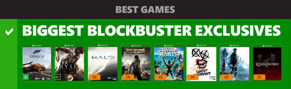 Best Blockbuster Exclusives