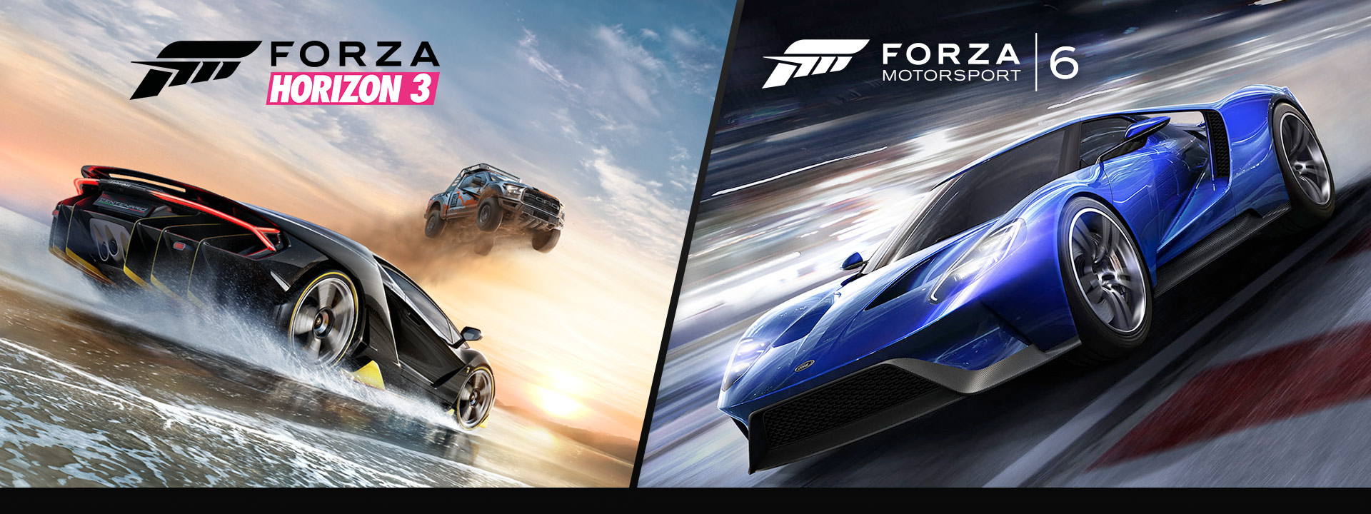 Forza Horizon 3 y Forza 6