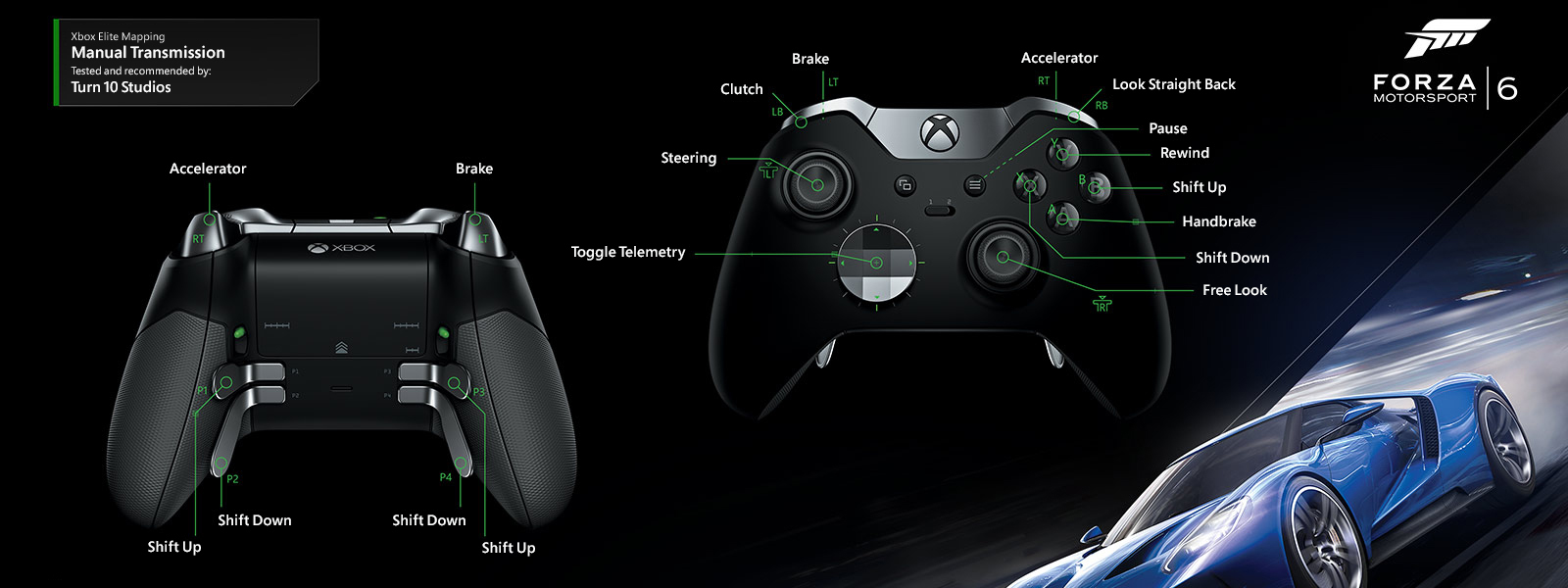 Forza Motorsport 6 – Manual Transmission Elite Mapping
