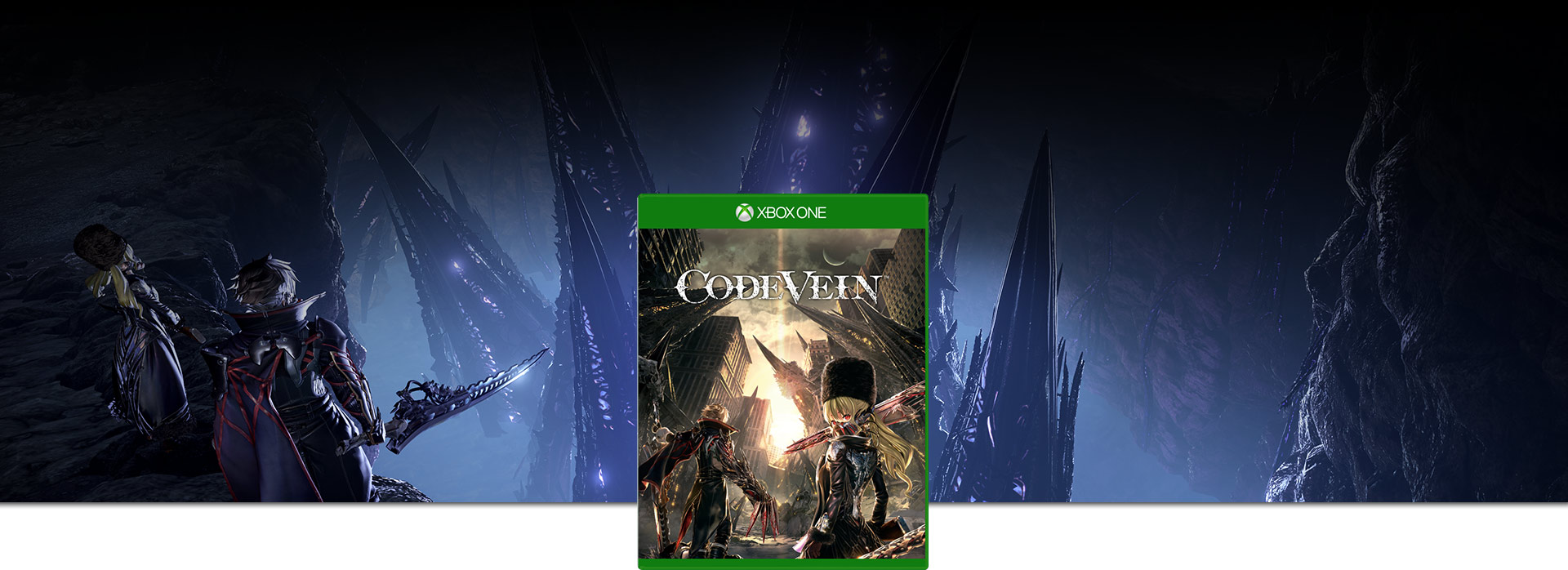 Code Vein – coverbillede