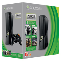 Xbox 360 250GB Hardcore Gamer Bundle