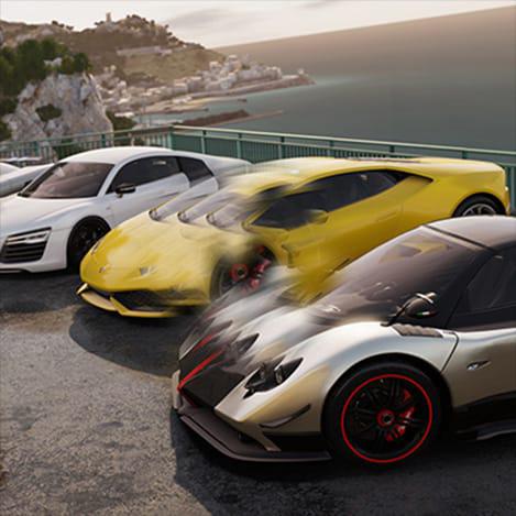 12-player racing