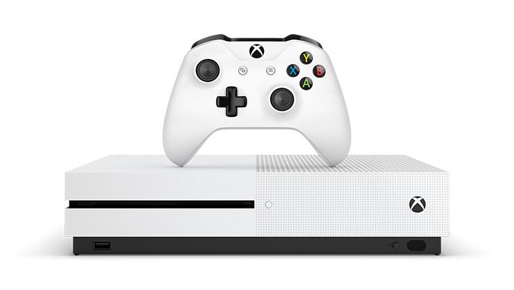 Xbox One S console