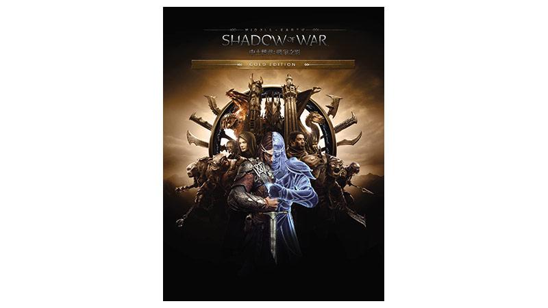 《中土世界:戰爭之影》黃金版包裝圖