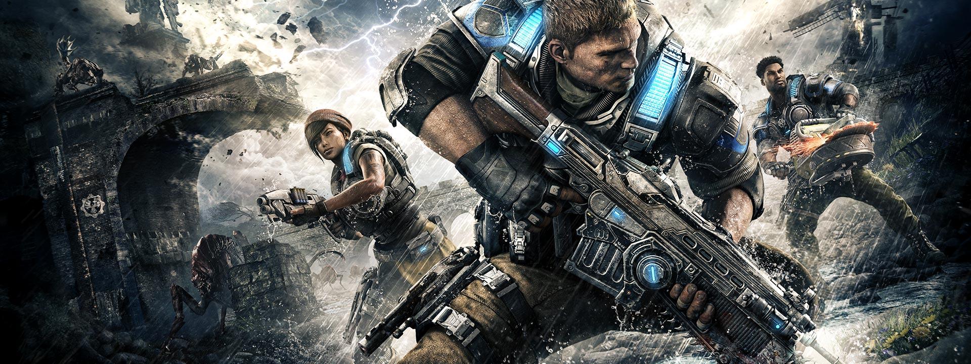 Gears of War 4 on Windows 10