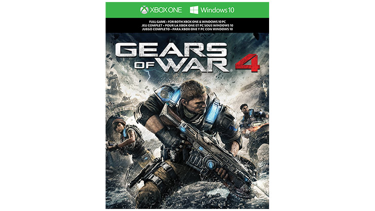 xbox one s gears of war 4 bundle 1tb xbox. Black Bedroom Furniture Sets. Home Design Ideas
