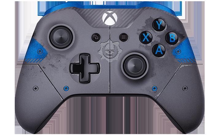 Control inalámbrico Xbox: Gears of War 4 JD Fenix edición limitada
