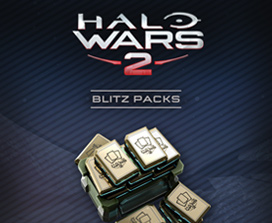 40 pacotes Blitz do Halo Wars