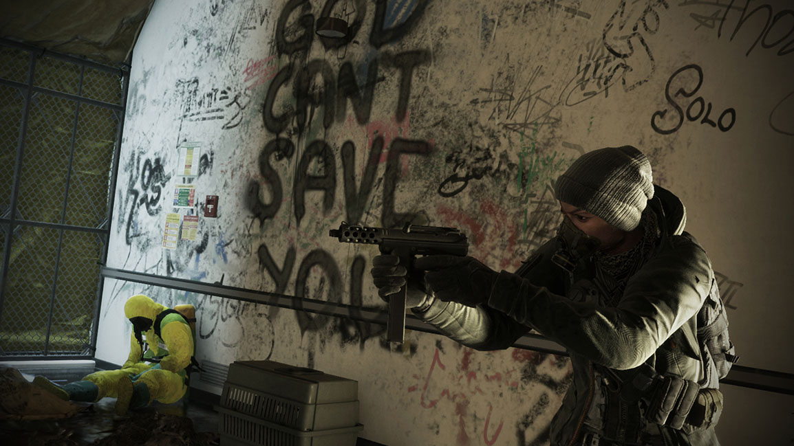 Tom Clancy's The Division, agent et pistolet