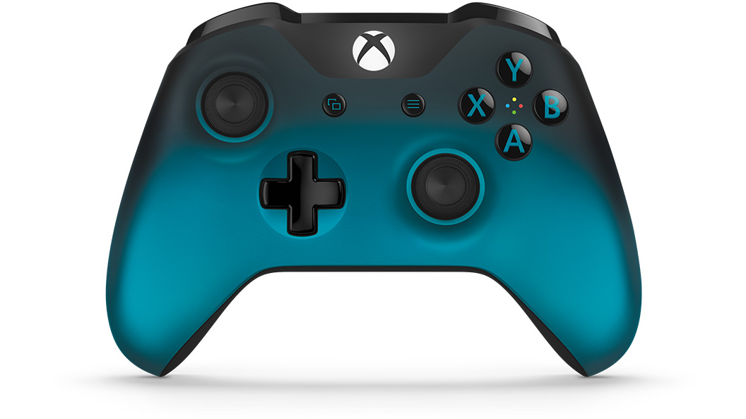 Front view of Ocean Shadow Special Edition Controller