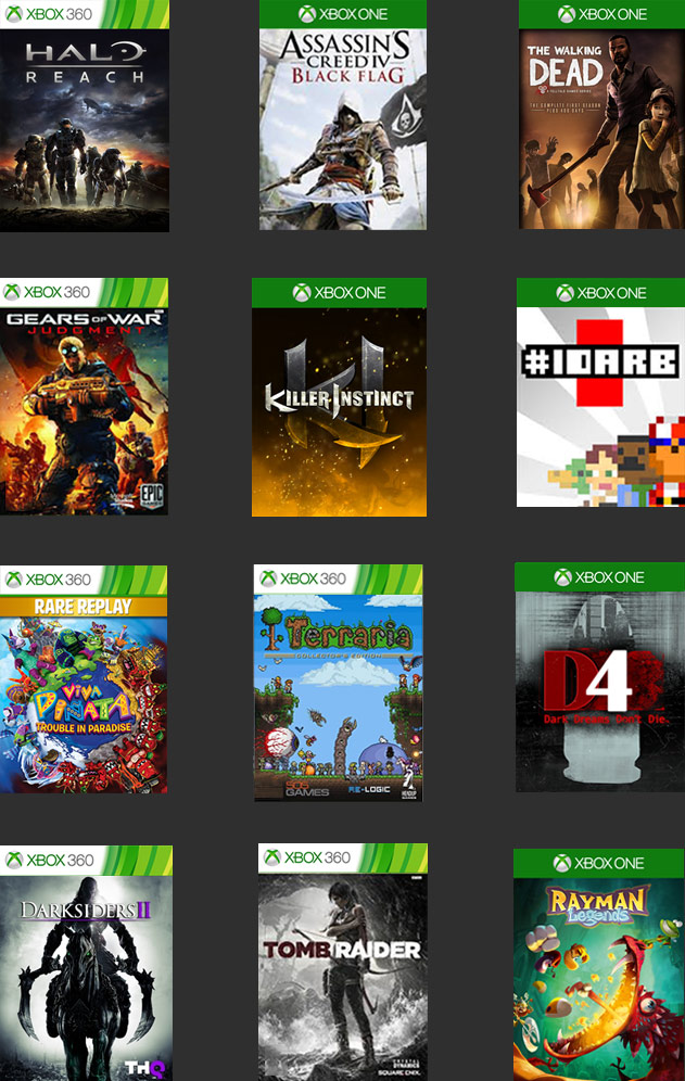 Xbox 360 Games With Gold : Games with gold xbox live