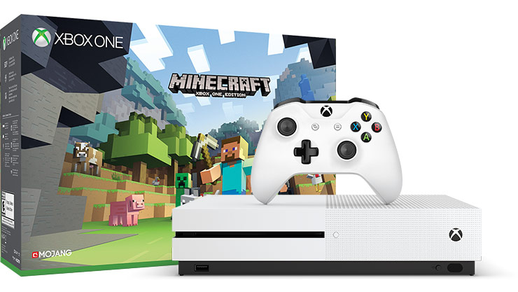 Xbox One S Minecraft 500 gigabyte bundle