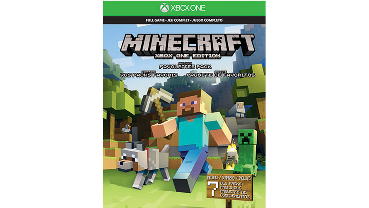 micecraft xbox one favorites pack