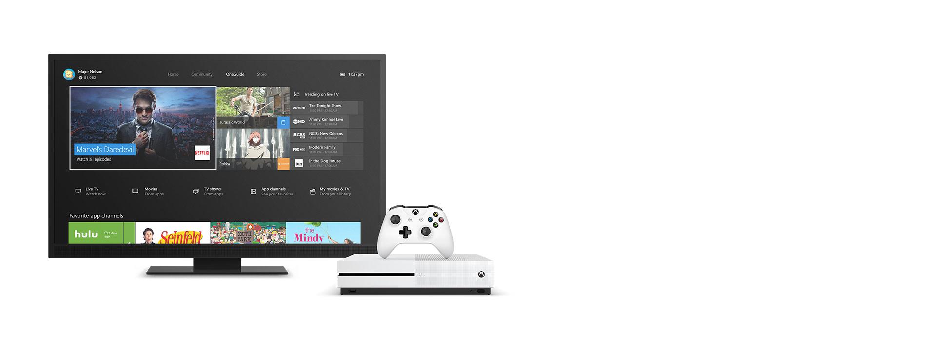 Xbox One S 엔터테인먼트