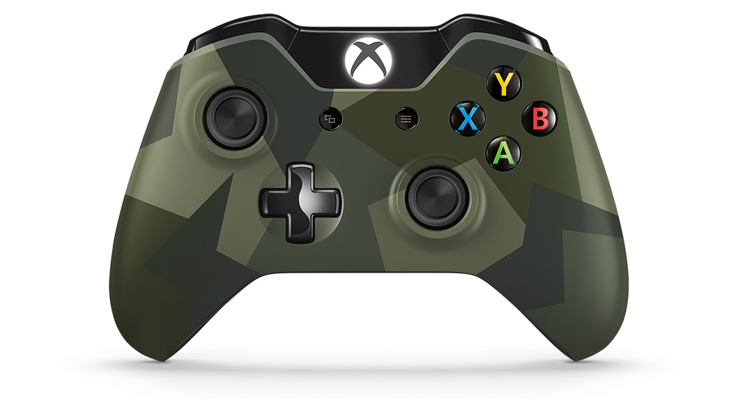Front view of Armed Forces Special Edition Wireless Controller