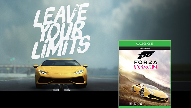 Imagen de la caja de Forza Horizon 2