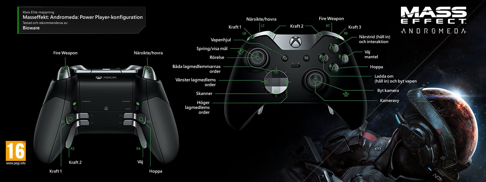 Mass Effect: Andromeda – Power Player-konfiguration