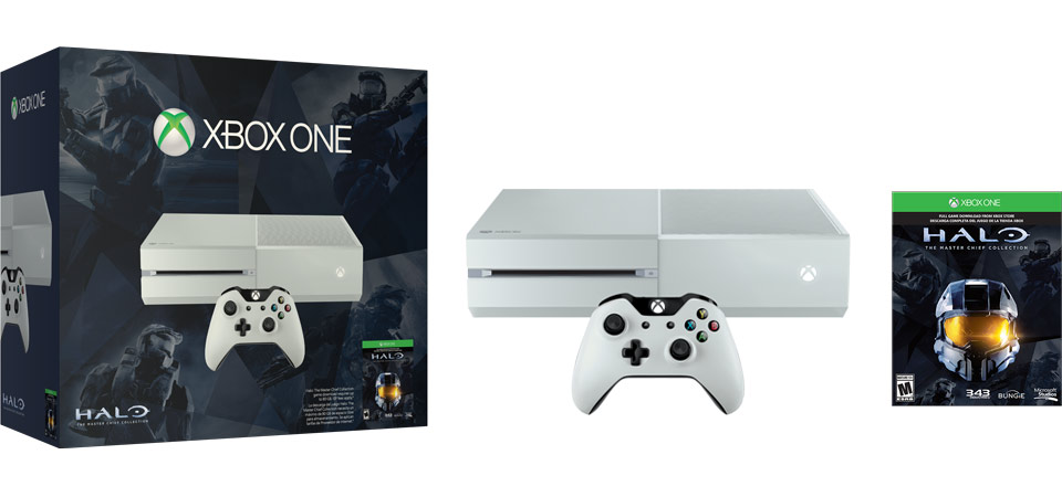 Xbox One Halo The Master Chief Collection Special Edition Bundle banner