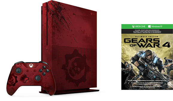Xbox One S Gears of War 4 Limited Edition Bundle (2 TB)