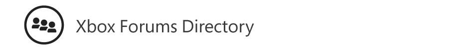 Xbox.com Forums Directory
