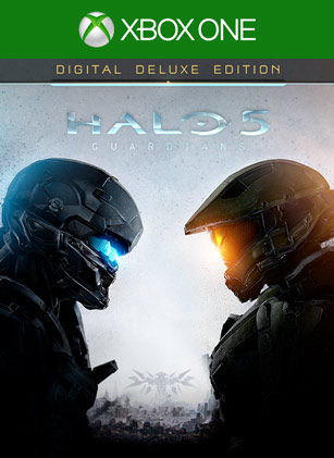 Halo 5: Guardians Digital Deluxe Edition Box Shot