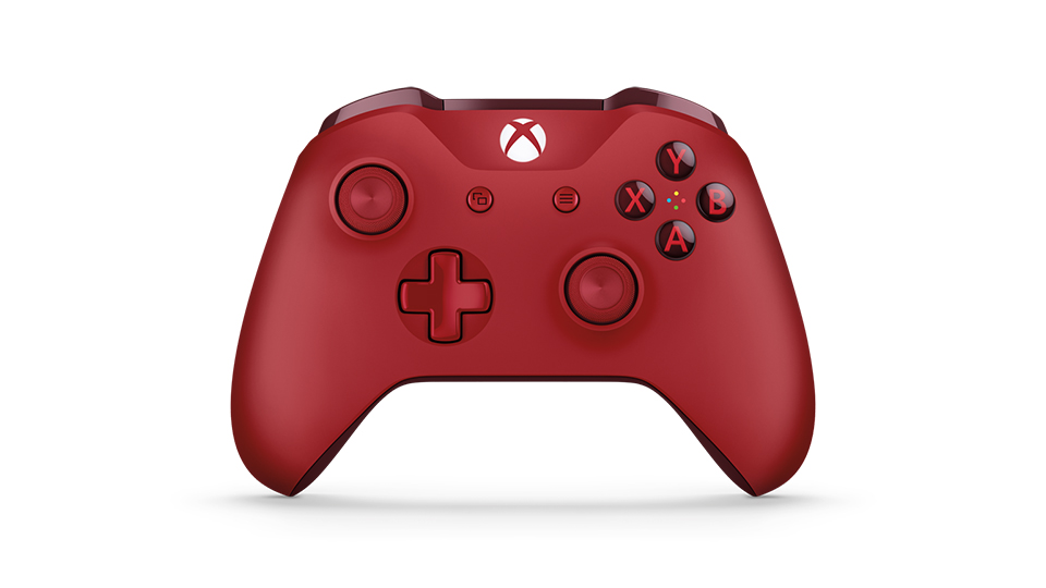 Front of controller